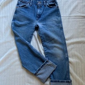 Vintage Wranglers in Perfect Wash